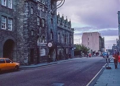 Canongate Tolbooth Edinburgh Oct 1978