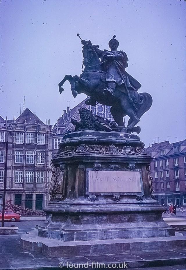 King Jan III Sobieski monument in Gdansk
