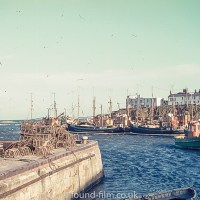 The harbour at Seahouses in Northumberland