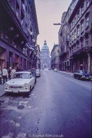 Zrinyi utcain Budapest in the 1970s