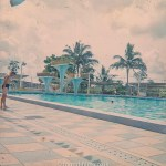 The Swimming pool at Seletar early 1960s