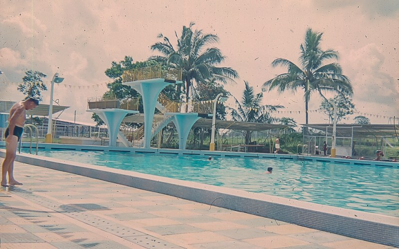 The Swimming pool at Seletar