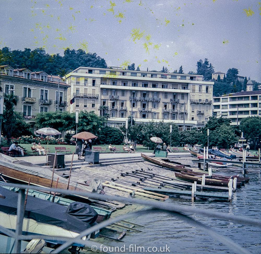 Lake Lugano in Switzerland early 1960s