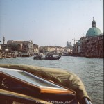 Views around Europe - Grand Canal in Venice Italy, 1982