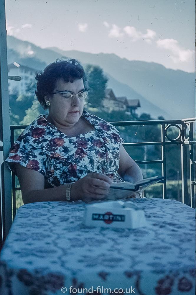 Mountainside Restaurant portrait, 1950s