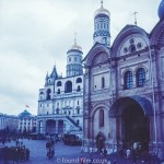 Images from Soviet Era Moscow - The Kremlin in Moscow - 1957