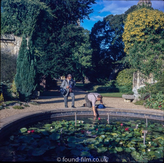 Pictures of Oxford - A pond in Oxford