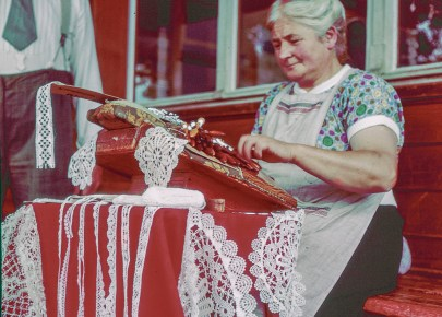Swiss Lacemaker at Oberhofen