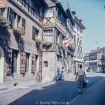 A town in Switzerland in 1957