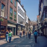 Stonegate in York in the mid 1970s