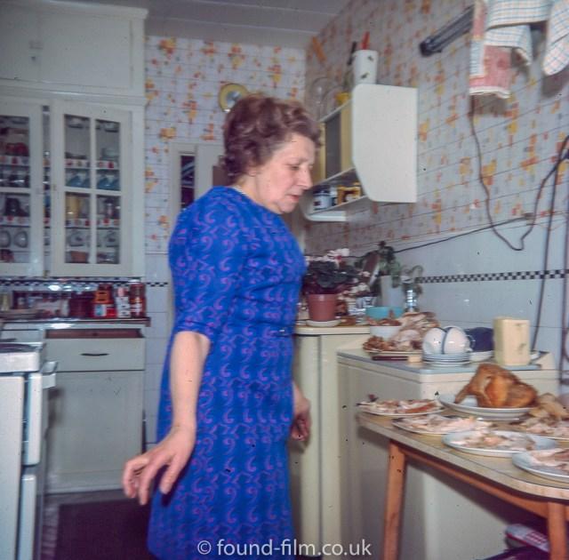 Christmas Day teatime