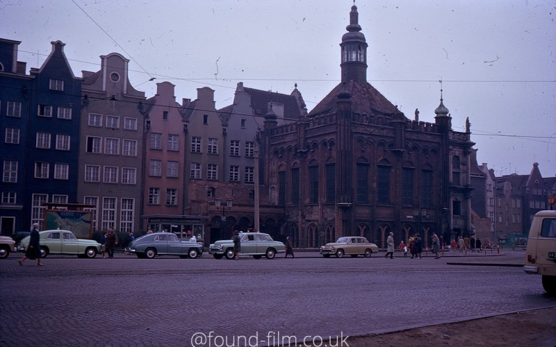 Eastern European town in the 1960s