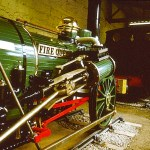 Orwo Colour Slides - Engine Fire Queen at Penrhyn Castle Museum