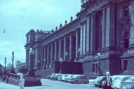 Parliament House Melbourne about 1959