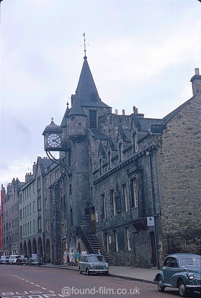 A picture of the Canongate Tolbooth in Edinburgh