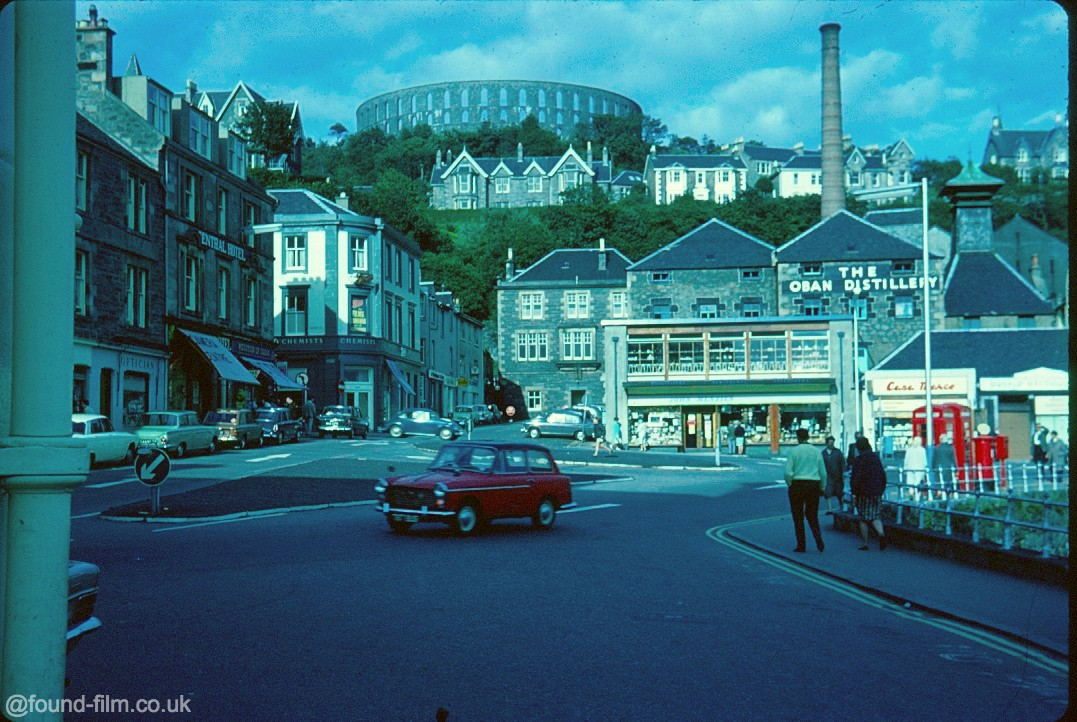 Snapshots in time: Pictures of Oban in 1967