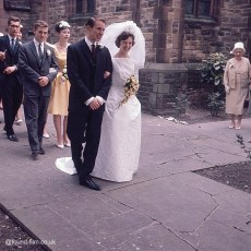 A Wedding from the 1970s