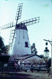 The windmill at Perth in Australia