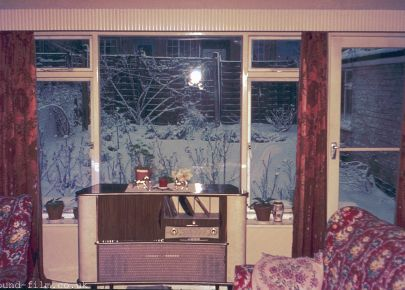 A house interior from the 1960s