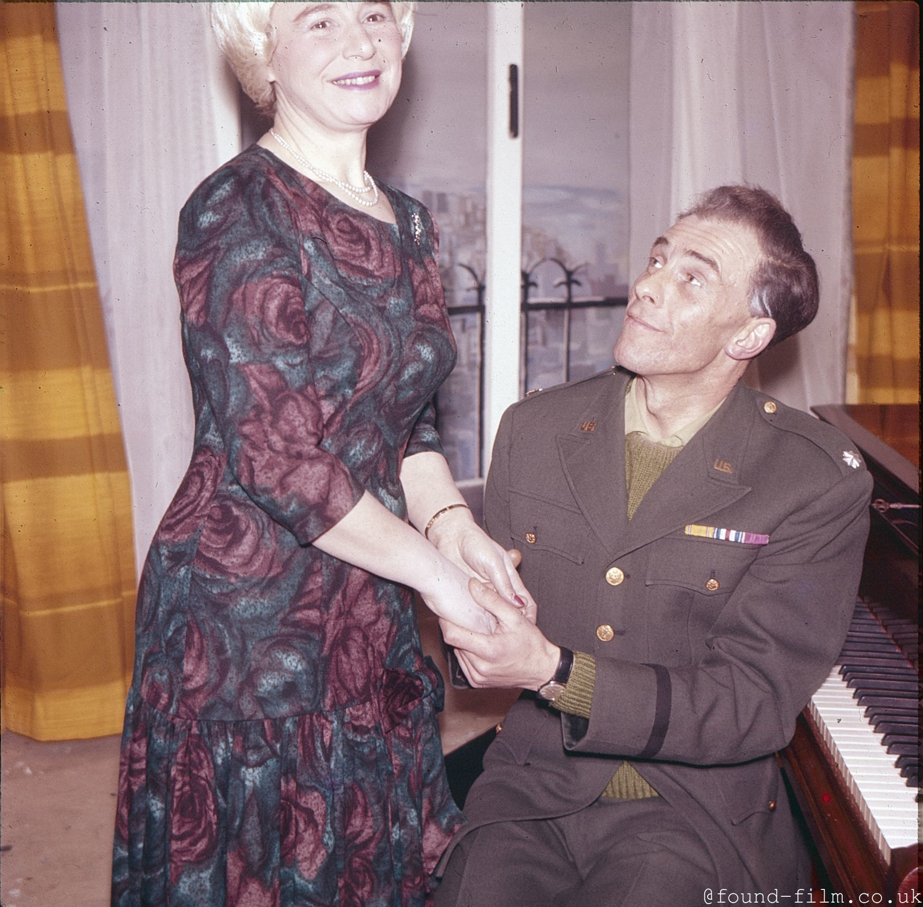 A US Serviceman and his Intended?