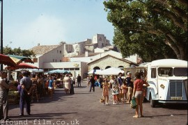 A Market in France from about 1974