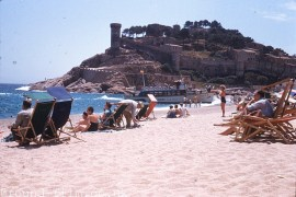 A Spanish beach from 1959