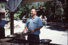 Panning for Gold in New Zealand, May 2003