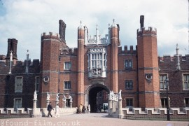 The Gatehouse to Hampton court palace - 1961
