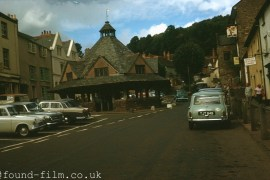 The village of Dunster in September 1964