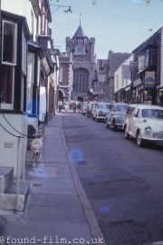 Town high street from 1959