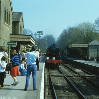Station on the Watercress Line at New Alresford, Hampshire