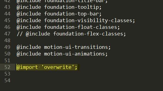 FoundationでCSSはどう書いていくのだろうか やっとSassを使ってみる