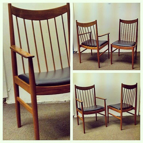x8 Arne Vodder Dining Chairs