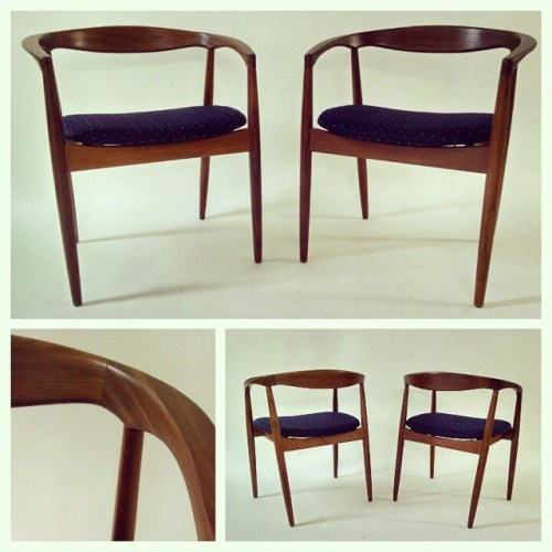 Pair of Kai Kristiansen Armchairs