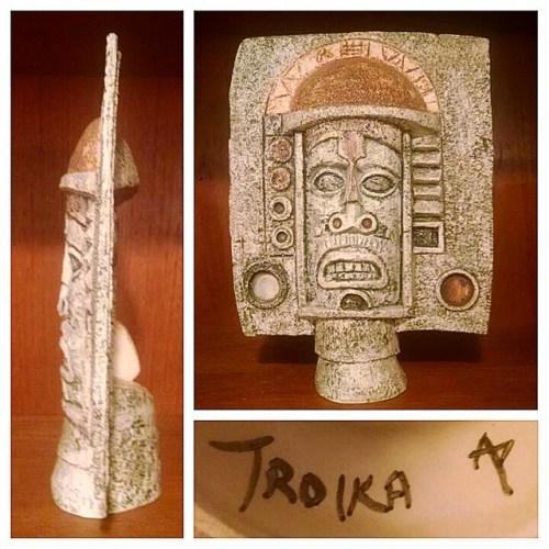 Troika Pottery Mask