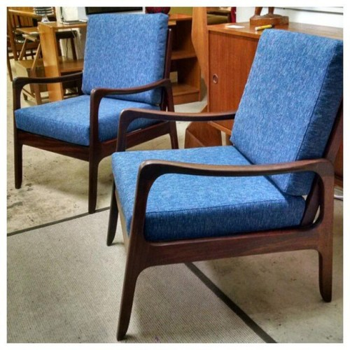 Ole Wanscher Lounge Chairs