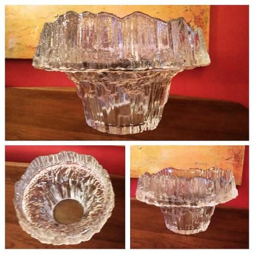 Iittala Stellario Crystal Bowl