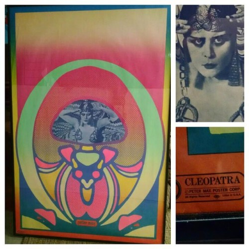 Peter Max Poster - Cleopatra