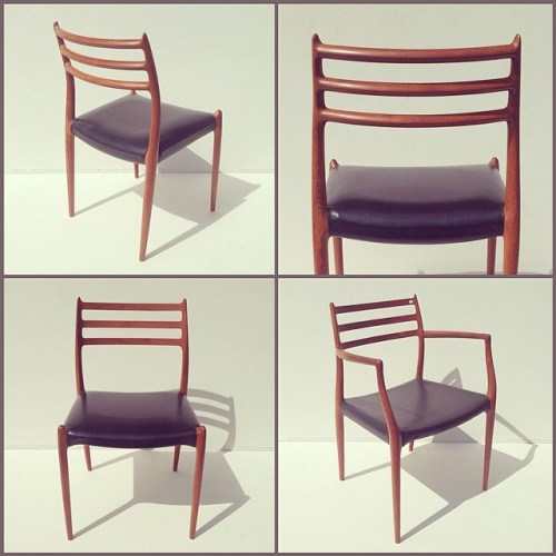 x8 Möller Model 78 Chairs