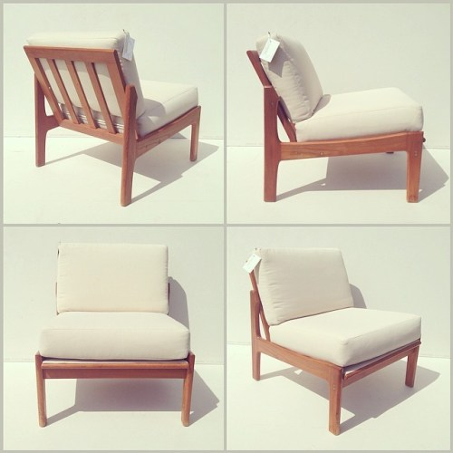 Teak Modular Lounge Chair