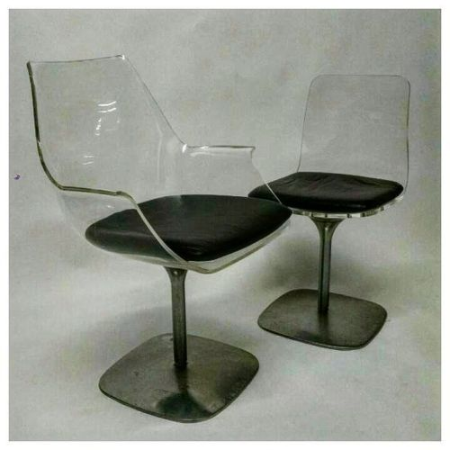 Acrylic and Aluminum Chairs