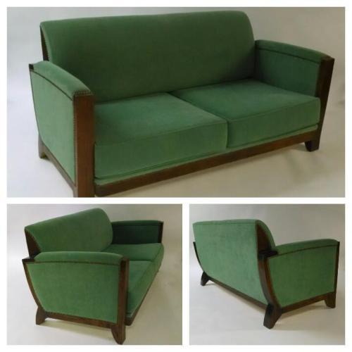 French Deco Sofa