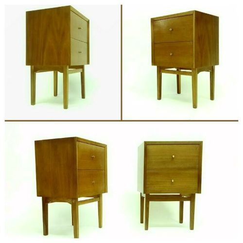 Walnut Nightstands