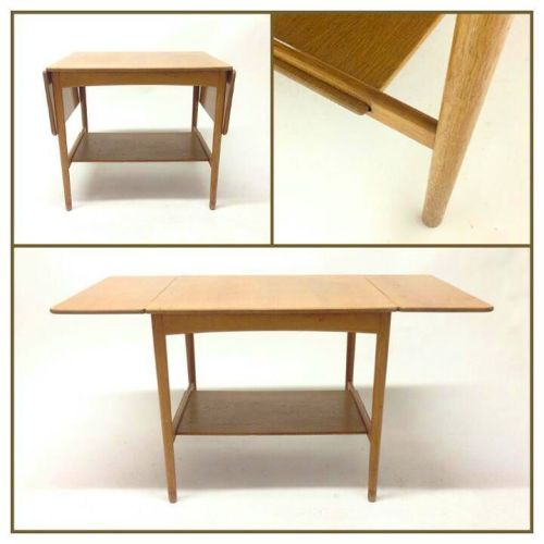Oak drop-leaf Table