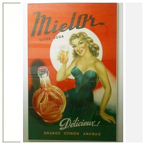 French 1950s Poster