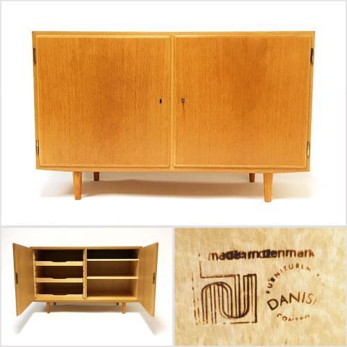 Poul Hundevad Oak Cabinet