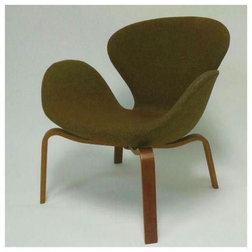 Wooden Legged Swan Chair