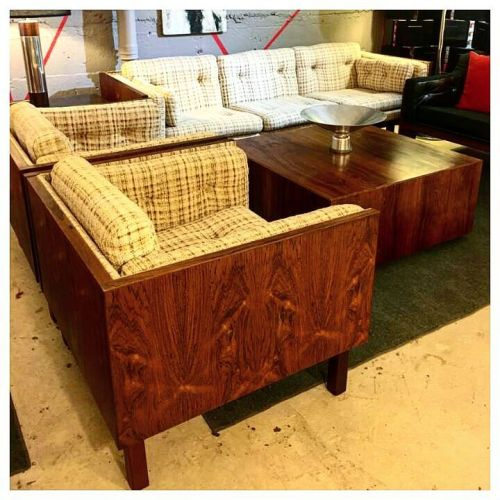 Rosewood Sofa & Chairs
