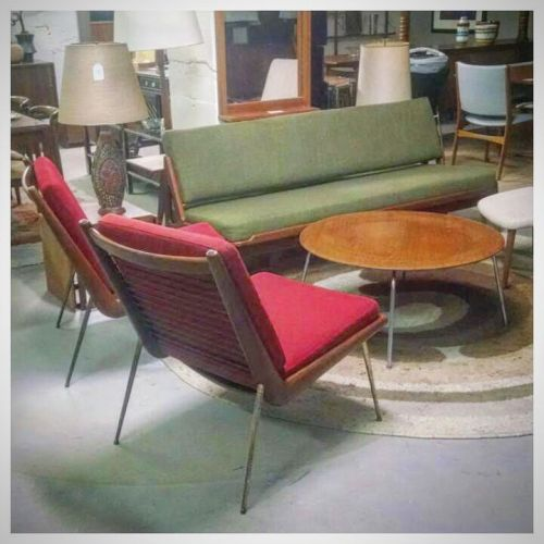 Pair of Hvidt and Molgaard Chairs