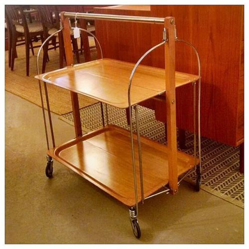 Raquer Serving Cart